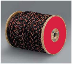 Picture of Polypropylene Truck Rope - Black/Orange