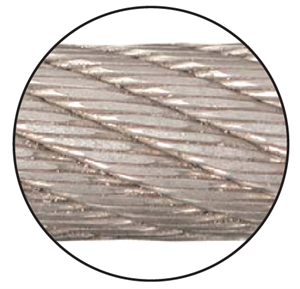 Picture of Python® Compac 18 (strand compacted) Rotation Resistant for Multi-Layer Drums