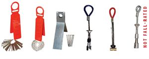 Picture of Single Use,Reusable Roof Anchors, and Concrete Anchors
