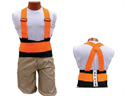 Picture of Back-EZE™ Black Polyester Safety Belts - Safety Orange
