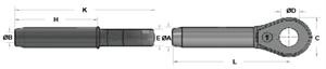 Picture of Closed Swage Sockets - Carbon Steel