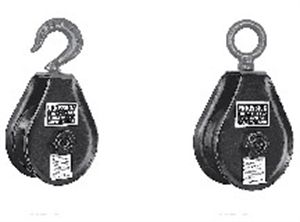 Picture of Hay Fork Pulley Blocks